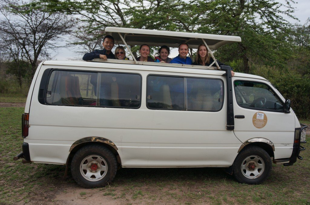 At least half the cars in the Masai were like this. The 4x4 Land Rovers are more prevalent in the Serengeti.