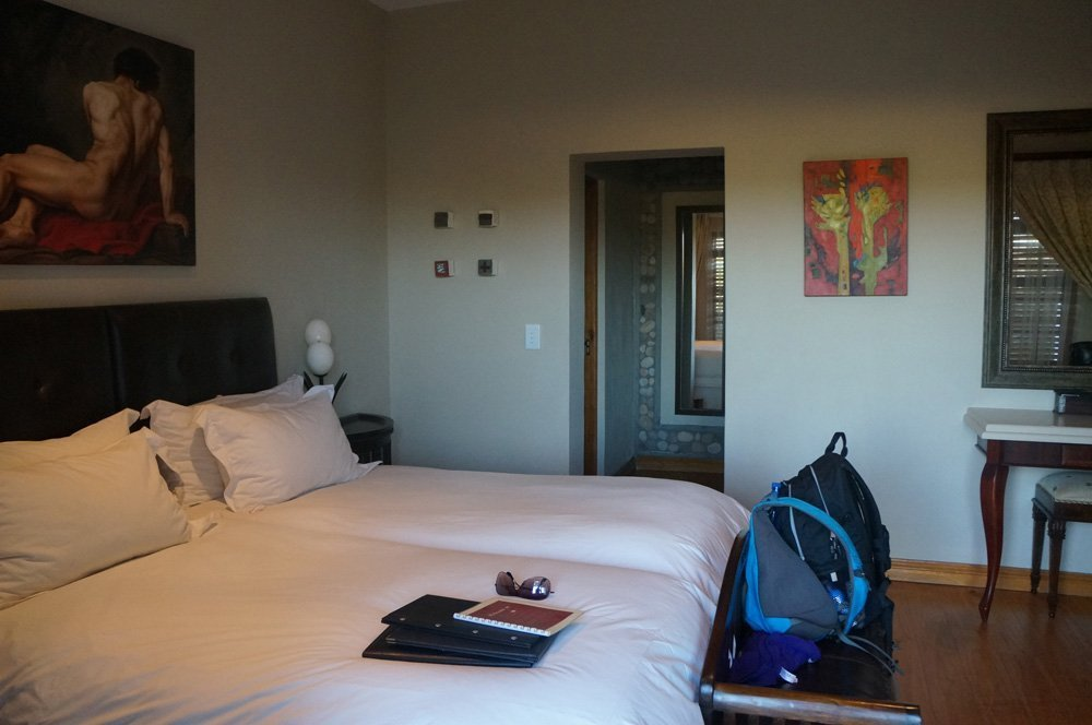 Our room at the Terra Bianca