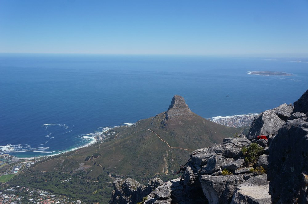 lions head from table mountain cape town