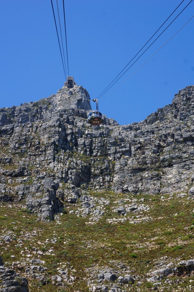Cable Car table mountain cape town
