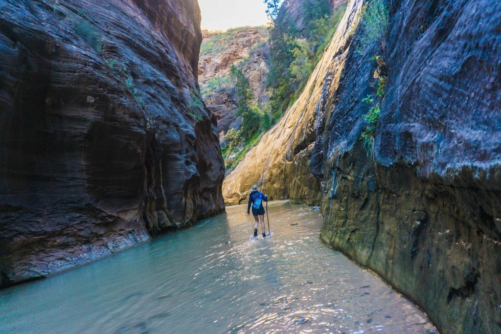 Narrows Zion Park