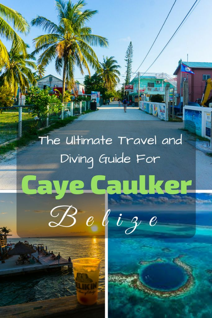 The Ultimate Travel And Diving Guide For Caye Caulker, Belize
