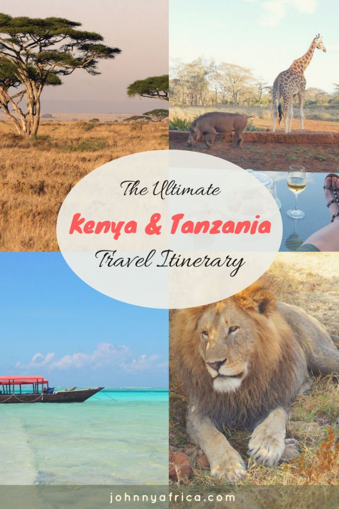 The Ultimate Two Week Travel Itinerary for Kenya And Tanzania