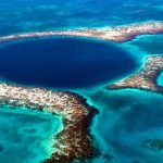 Blue Hole Belize Aerial