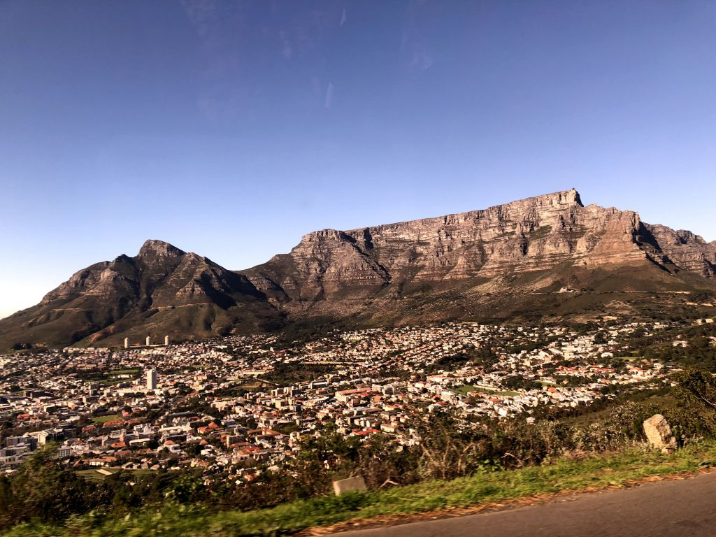 beautiful cape town table mountain