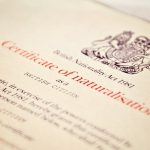 British Citizenship naturalisation