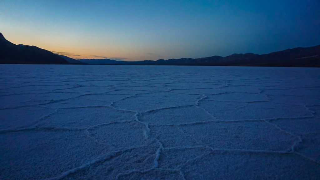 Sunrise Badwater Basin Death Valley