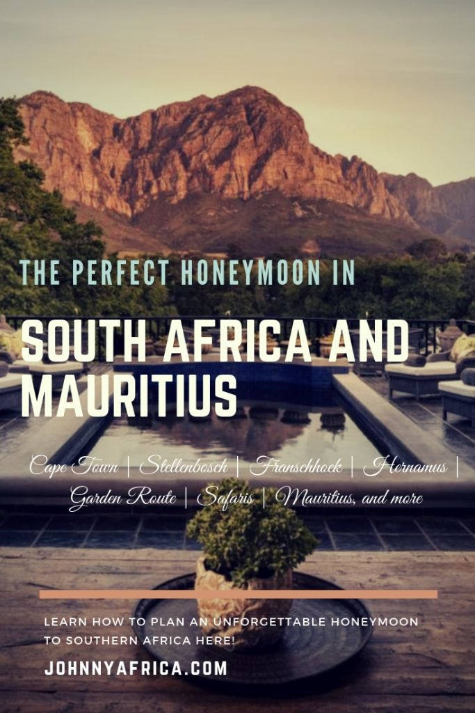 The Perfect Cape Town, Garden Route, Safari, and Mauritius Honeymoon Itinerary