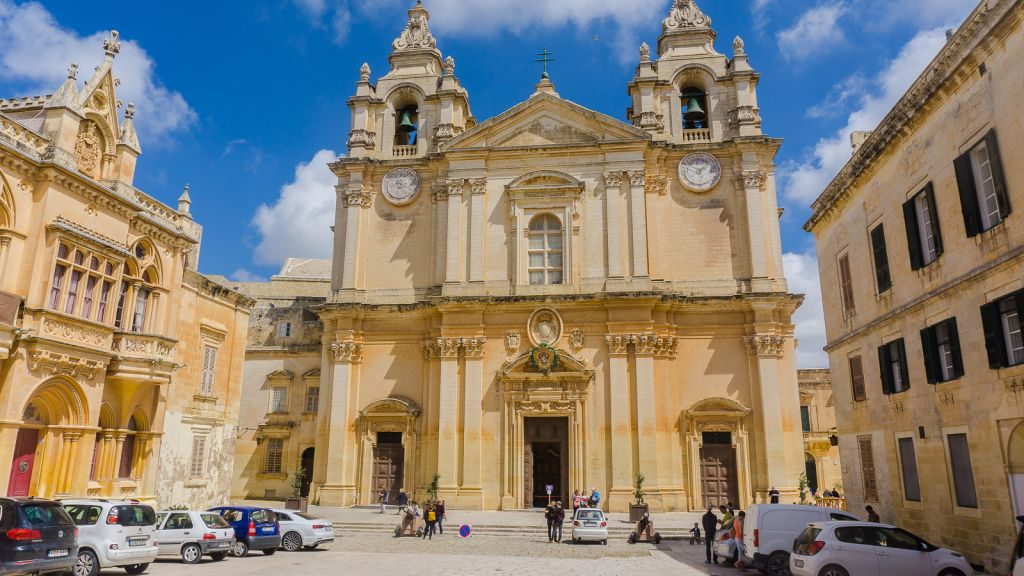 ANother pretty church in the Mdina