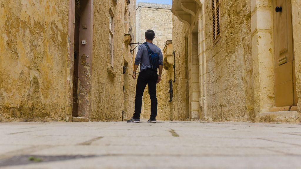 Me trying to look cool in the Mdina