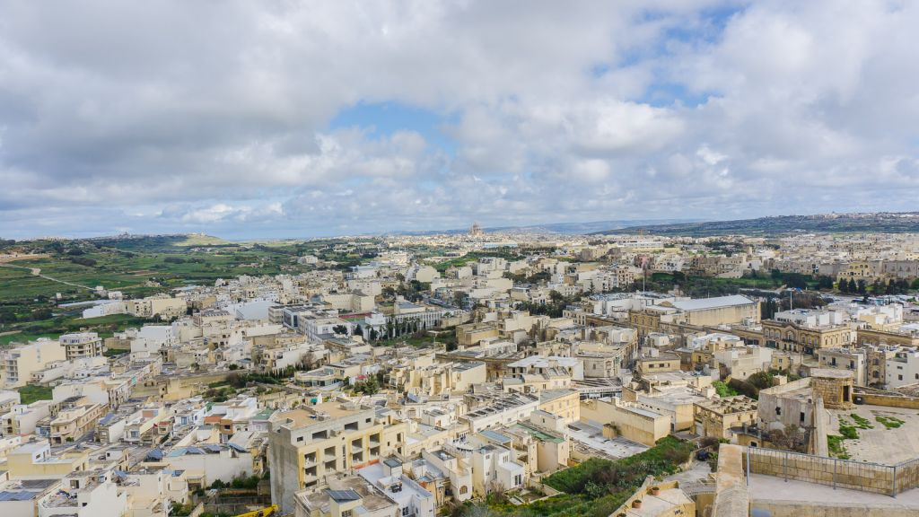 Views from The Citadella of Victoria, Gozo