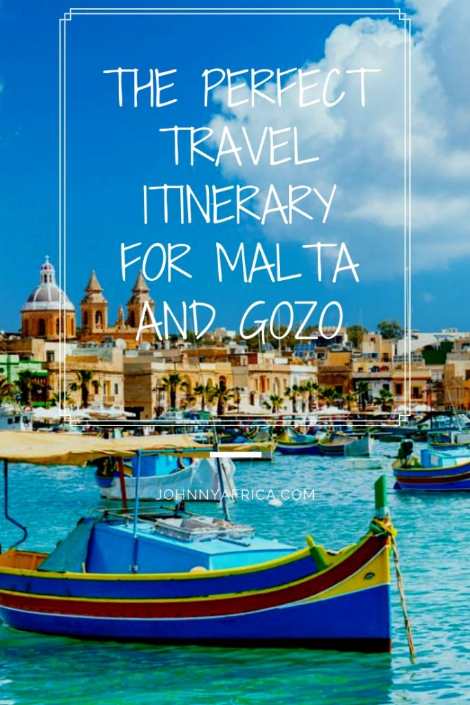 The Perfect Travel Itinerary For Malta and Gozo
