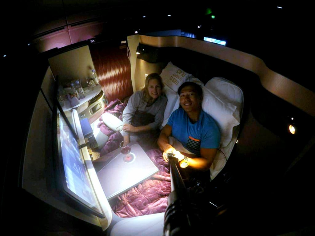 qsuites qatar airlines business class