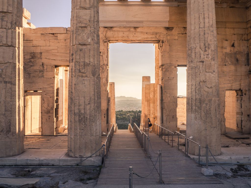 Temple of NIke in Athens